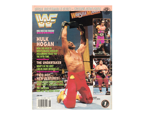 WWF MAGAZINE - JUNE 1993
