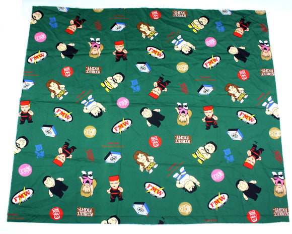 FMW Cartoon Pattern Fabric
