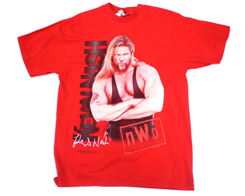 Kevin Nash NWO Red Wolfpac T-Shirt at Stashpages