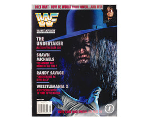 WWF MAGAZINE - MARCH 1994