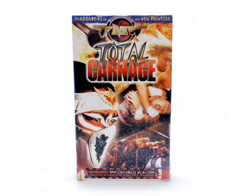 FMW TOTAL CARNAGE VHS TAPE