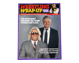 NWA WRAP UP MAGAZINE # 5 *MISSY HYATT FOLD-OUT POSTER*