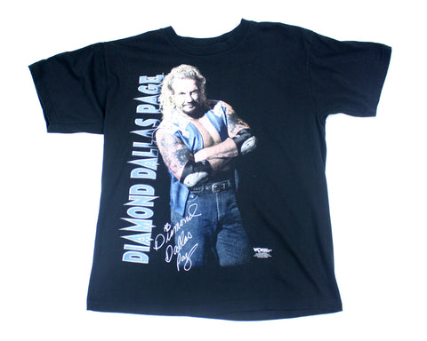 WCW Vintage Diamond Dallas Page DDP T-Shirt at Stashpages