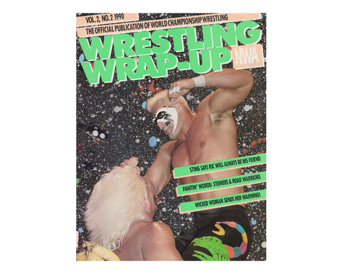 WCW Wrap-Up Magazine 1990 Vol. 2