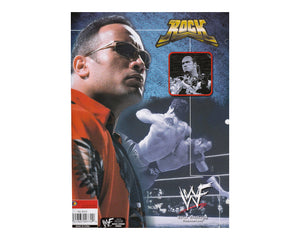 WWF THE ROCK FOLDER