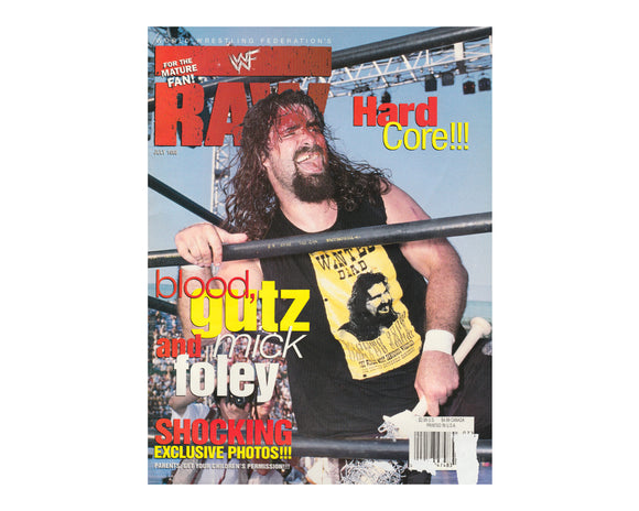 WWF RAW MAGAZINE - JULY 1998