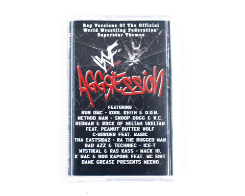 WWF AGGRESSION CASSETTE ALBUM