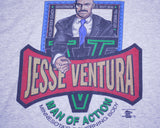 JESSE VENTURA MAN OF ACTION GOVERNOR T-SHIRT XXL