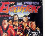 NJPW STRONG STYLE EVOLUTION 97 REPLICA POSTER