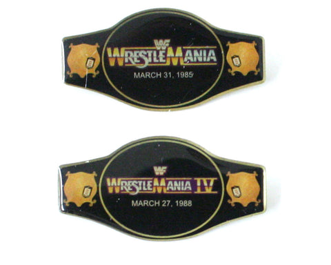 WWF WRESTLEMANIA 20-PIN SET