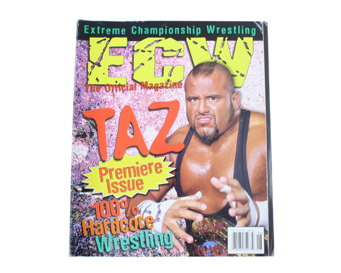 ECW MAGAZINE ISSUE #1