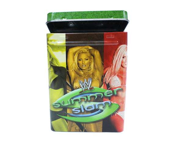 WWE SUMMERSLAM / RAW DEAL TIN + CARDS PACK