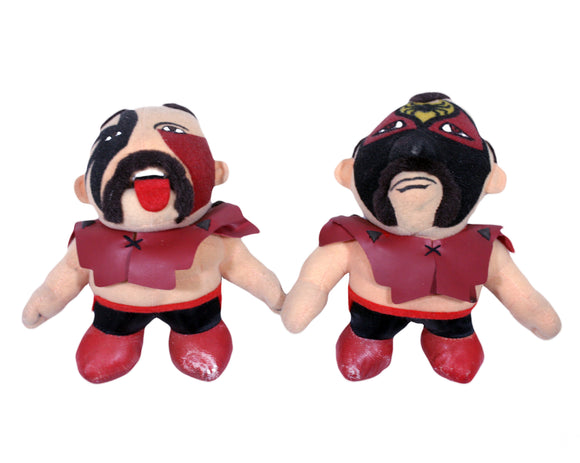 ROAD WARRIORS PLUSH DOLLS