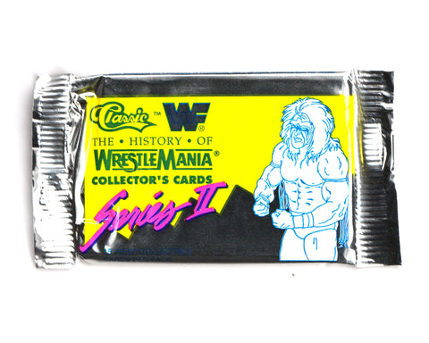WWF HISTORY OF WRESTLEMANIA TRADING CARDS [SERIES 2]