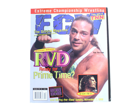 ECW MAGAZINE ISSUE #4
