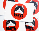 DARYL TAKAHASHI STICKERS [5-PACK]