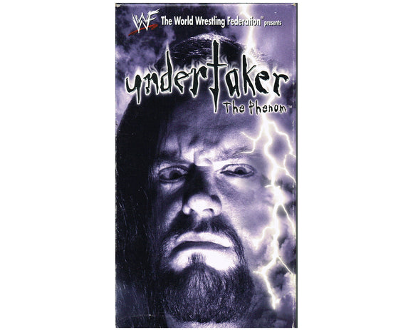 WWF UNDERTAKER THE PHENOM VHS TAPE