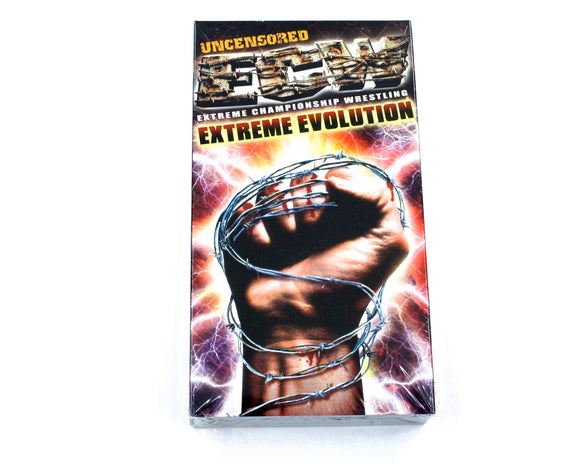 ECW EXTREME REVOLUTION VHS TAPE