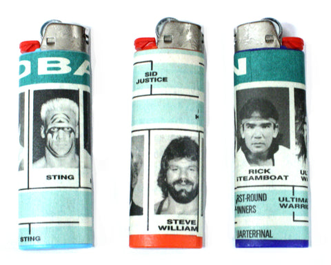 PWI MAGAZINE LIGHTERS