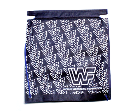 GOLDEN ERA PATTERN DRAWSTRING BAG
