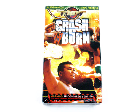 FMW CRASH AND BURN VHS TAPE