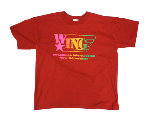 W*ING RED RAINBOW T-SHIRT XL