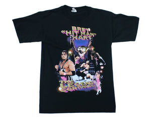 WWF BRET HART 'BEST THERE EVER WILL BE' VINTAGE T-SHIRT LG