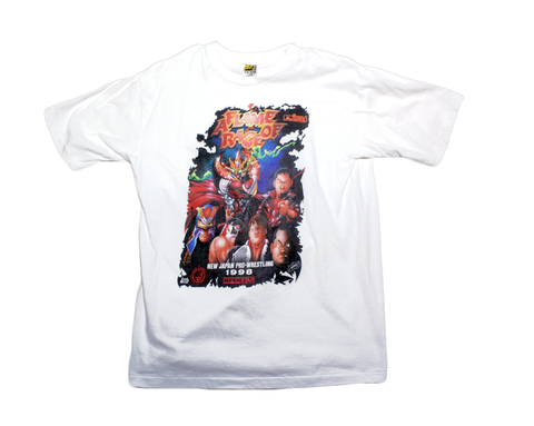 NJPW FLAME OF RAGE SAKAI T-SHIRT LG