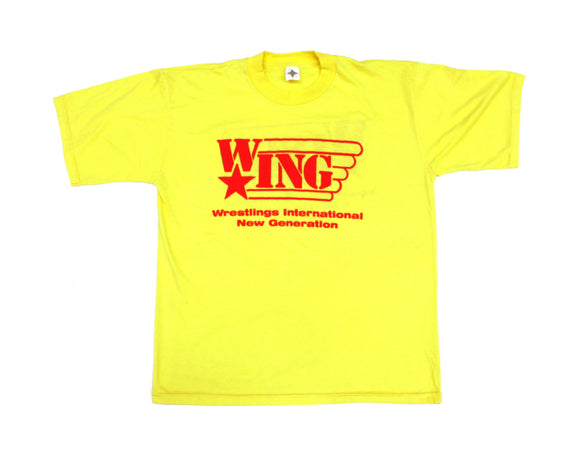 W*ING RED & YELLOW T-SHIRT XL