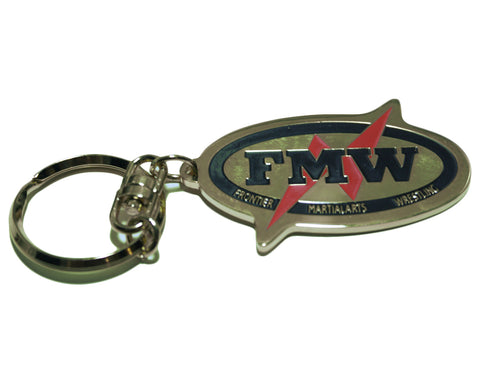 FMW LIGHTING LOGO GOLD KEYCHAIN