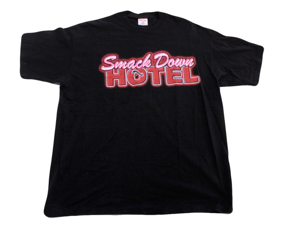 WWF THE ROCK SMACKDOWN HOTEL T-SHIRT XXL