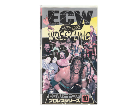 ECW HARDCORE #10 JAPANESE VHS TAPE