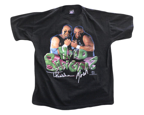 WWF HEADBANGERS PHOTO T-SHIRT XXL