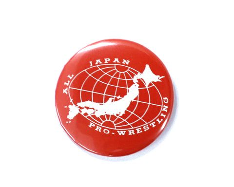 AJPW Logo Red Button