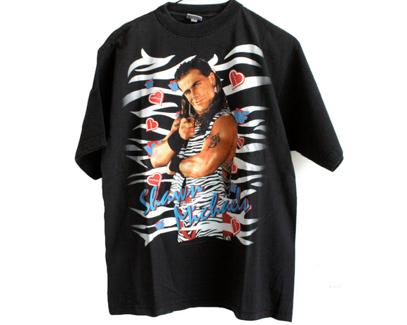 WWF SHAWN MICHAELS GOD'S GIFT T-SHIRT MED