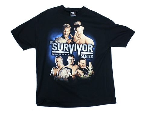 WWE SURVIVOR SERIES 2008 VINTAGE-SHIRT XL