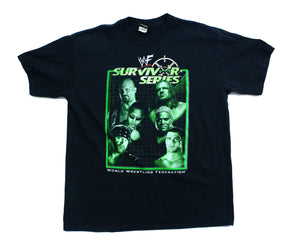 WWF SURVIVOR SERIES 2000 VINTAGE T-SHIRT XL