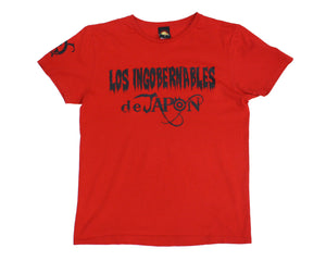 NJPW Los Ingobernables Red T-Shirt LG