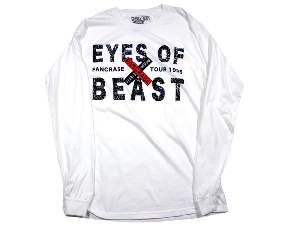 [PRE ORDER] EYES OF BEAST WHITE LONGSLEEVE