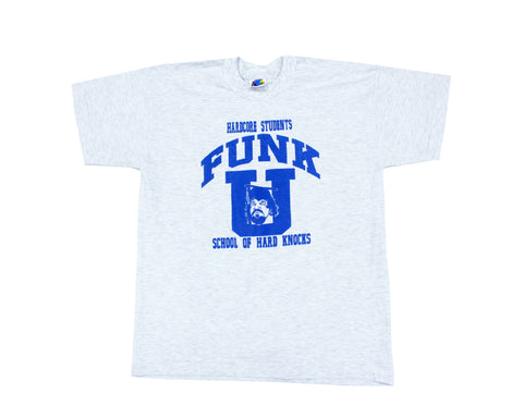 TERRY FUNK FUNK-U GRAY/BLUE T-SHIRT XL