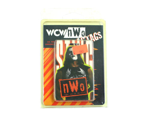 "WCW STING ""BAG TAG"" LUGGAGE TAG"