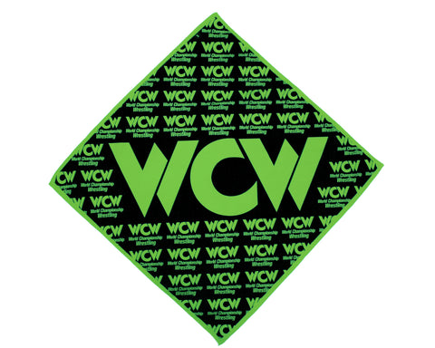 WCW Green/Black Bandana