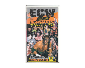 ECW HARDCORE VOL. 14 VHS TAPE