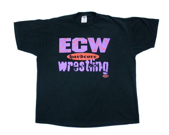 ECW 'PAIN GAME' VINTAGE T-SHIRT XXL