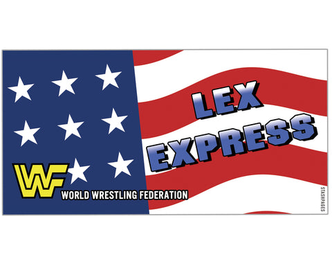 LEX EXPRESS STICKERS [5-PACK]