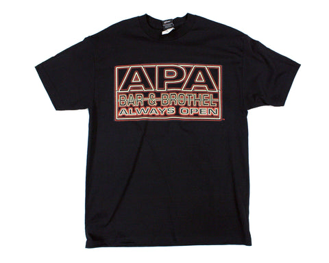 WWF APA BAR & BROTHEL T-SHIRT LG