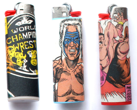 WCW COMIC BOOK LIGHTERS [SERIES 3]