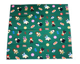 FMW CARTOON GREEN FABRIC
