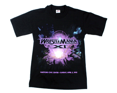 WWF WRESTLEMANIA 11 T-SHIRT SMALL