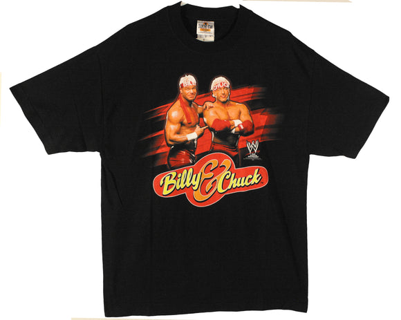 WWE BILLY & CHUCK T-SHIRT LG